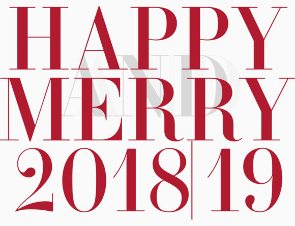 HAPPY AND MERRY 2018/19